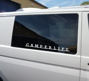 VW Style Text Name Decal Your Design/Word/Slogan